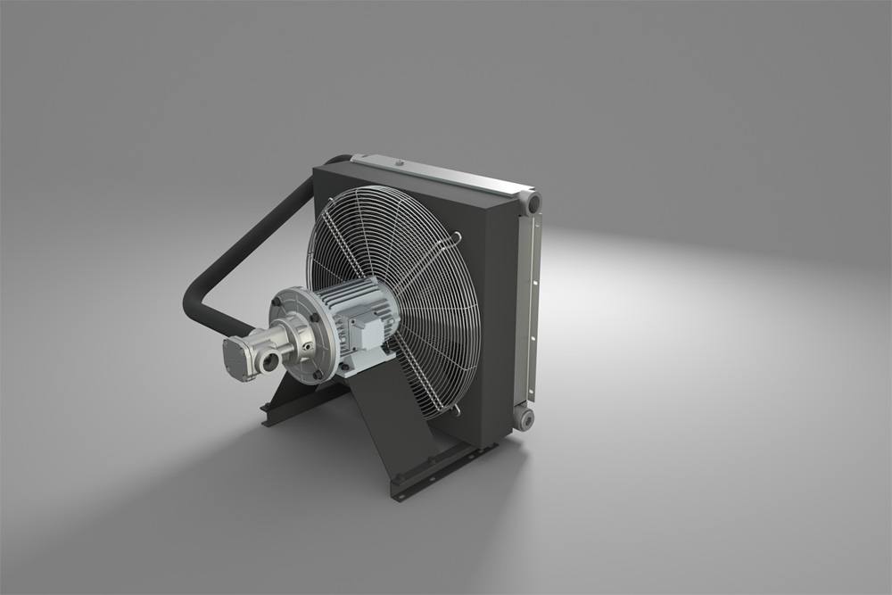 OCN Series offline cooling unit from R+L Hydraulics