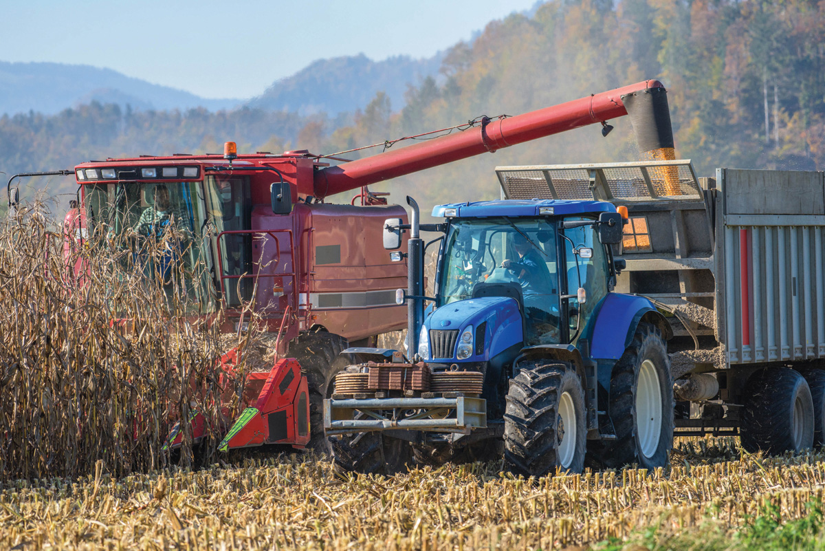 Examples of agricultural vehicles