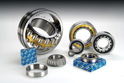 NKE produces rolling bearings for industrial gearboxes.